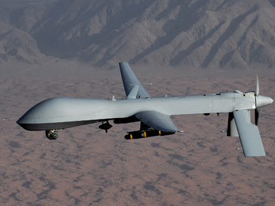 US Air Force handout image of a Predator drone (Reuters / U.S. Air Force / Lt Col Leslie Pratt / Handout)