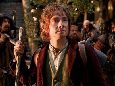 Martin Freeman stars as Bilbo Baggins in 'The Hobbit: An Unexpected Journey,' set for release this year