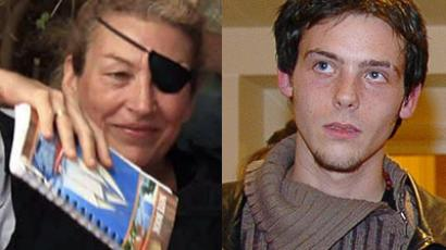 Journalist Marie Colvin poses for a photograph with Libyan rebels (unseen) in Misrata in this June 4, 2011 file photograph (Reuters / Zohra Bensemra) A file picture taken on February 2, 2005 in Paris shows French photo-reporter and journalist Remi Ochlik posing after receiving the Prix des Espoirs award (AFP Photo / Stephane De Sakutin)