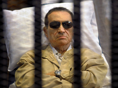 Hosni Mubarak in coma, but off life support