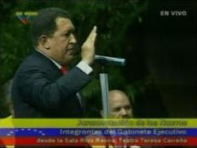 Hugo Chavez continues nationalisation