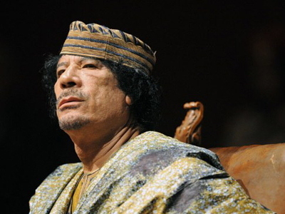 Muammar Gaddafi (AFP Photo / CHRISTOPHE SIMON)