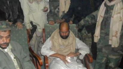 Saif al-Islam Gaddafi (AFP Photo / February 17 Website)