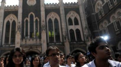 Students at St. Xavier College, India (AFP Photo / Tim Sloan)