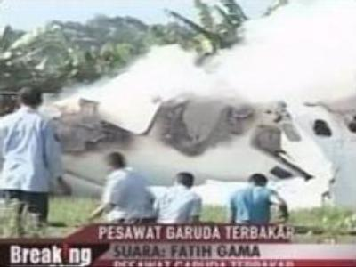 Indonesian plane crash: 23 dead, 115 survive