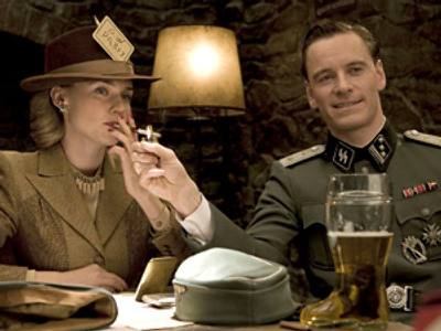 "A frame from Tarantino's movie ""Inglourious Basterds"""