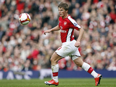Injured Arshavin to miss Arsenal's cup clash