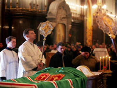 Internet exclusive: Aleksy II's funeral on RT website