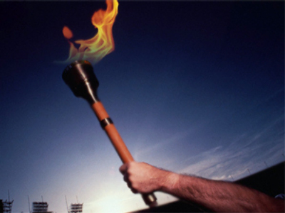 IOC bans international torch relays