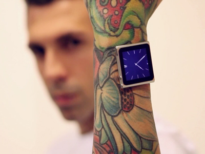 No strings attached: Man inserts magnets into wrist to hold iPod (PHOTOS)