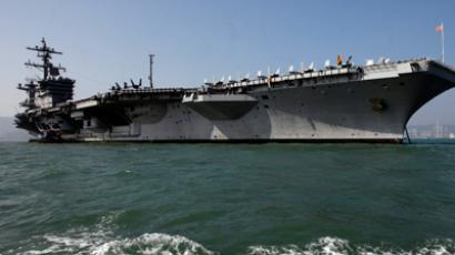 The US Navy's USS Carl Vinson aircraft carrier (Reuters / Siu Chiu)