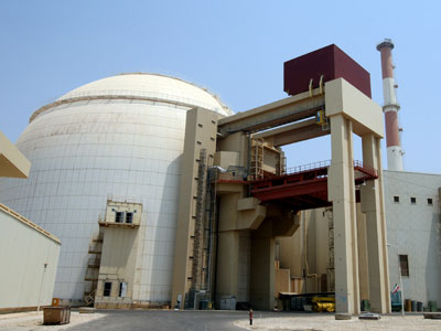 Russian-built Bushehr nuclear power plant in southern Iran.(AFP Photo / Atta Kenare)