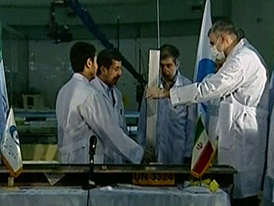 Iran steps up its nuclear program.