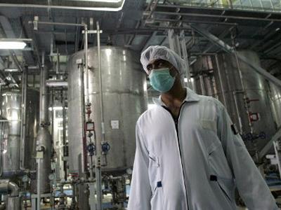 An Iranian technician works at the Isfahan Uranium Conversion Facilities (UCF). AFP Photo / Behrouz Mehri
