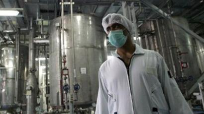 An Iranian technician works at the Isfahan Uranium Conversion Facilities (UCF). AFP Photo / Behrouz Mehri