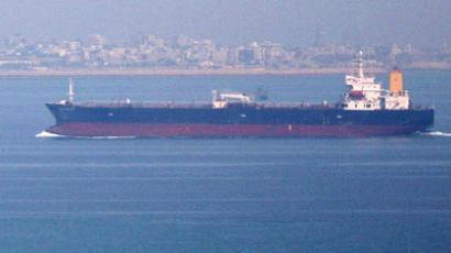 Аn oil tanker in the Persian Gulf and Sea of Oman (Reuters / Fars News)