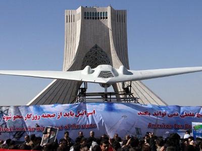 Captured US RQ-170 drone (AFP Photo / Atta Kenare)