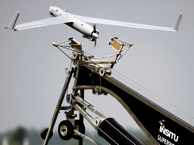 Insitu's ScanEagle, an autonomous aircraft system (AFP Photo/Jim Watson)