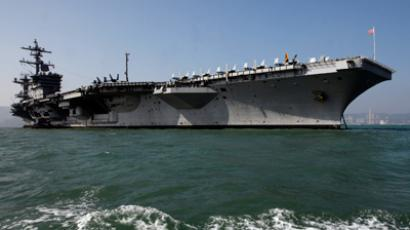 The US Navy's USS Carl Vinson aircraft carrier (Reuters / Tyrone Siu)