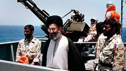 Undated handout shows Iran's Supreme Leader Ayatollah Ali Khamenei attending military maneuvers in an undiclosed location (REUTERS/Leader.ir/Handout)