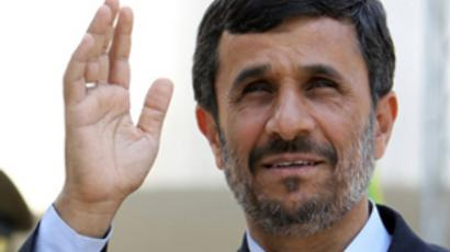 Iranian President Mahmoud Ahmadinejad (AFP Photo / Atta Kenare)