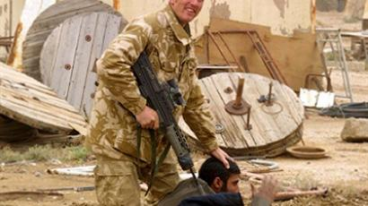 British soldiers in Iraq (AFP Photo / Pool / Mark Richards)