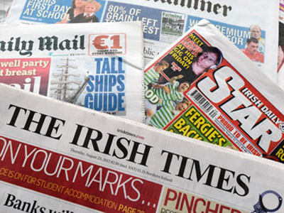 Ireland copyright battle: Newspapers demand $400 for sharing links