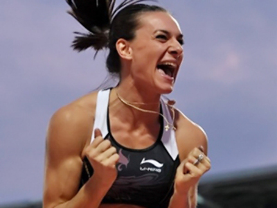 Isinbaeva fails record attempt, but still takes World Athletics Final