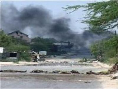 Islamic militants down helicopter in Somalia