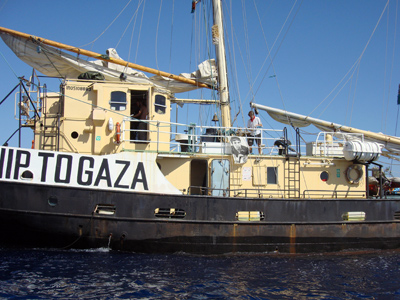 Israeli navy boards activist ship en route to Gaza