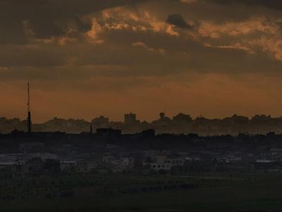 The Gaza Strip (AFP Photo / Marco Longari)