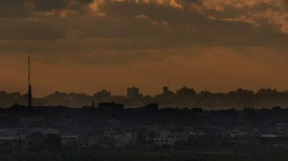 The Gaza Strip (AFP Photo / Marco Longari)