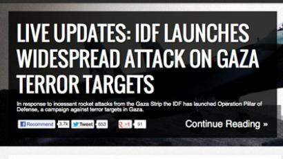 Israel faces 44 million attacks on websites in response to Gaza offensive