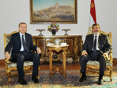 "Morsi: Israel and Hamas ""could soon"" agree a truce"