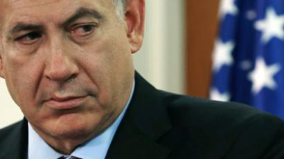 Netanyahu: truly incensed, or just trying to get the US on his side? (AFP Photo / Mark Wilson)