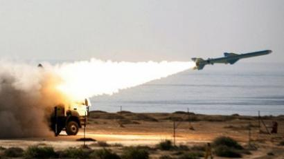 Iranian 200-kilometre  range Qader ground-to-sea missile (AFP Photo / Jamejamonline / Ebrahim Noroozi)
