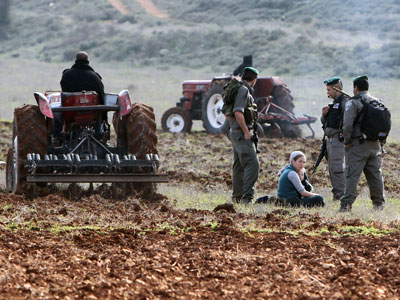 Clashes explode at West Bank outpost over farm land