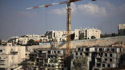 New construction site in the east Jerusalem Jewish settlement of Gilo on September 27, 2011. (AFP Photo/Menahem Kahana)