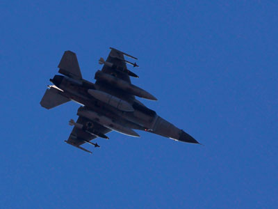 Israel fighter jets enter Lebanese airspace, hit targets on Syria border - reports