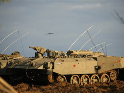 Israeli military on standby for ground operation