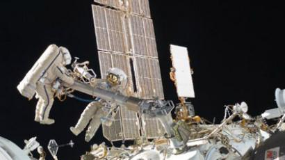Extravehicular activity at ISS (AFP Photo / NASA)