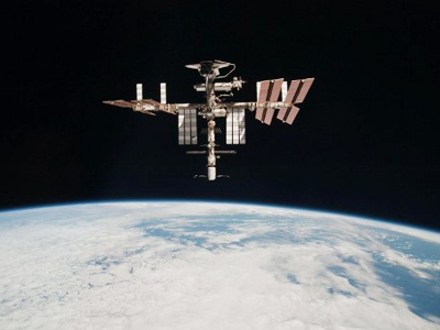 The International Space Station (AFP Photo)