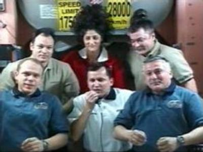 ISS crew to mark Cosmonautics Day in the right space