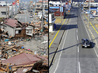 Rebuilding Japan: 1 year post-disaster