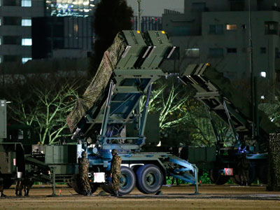 Japan deploys Patriot missiles to combat North Korean rocket threat