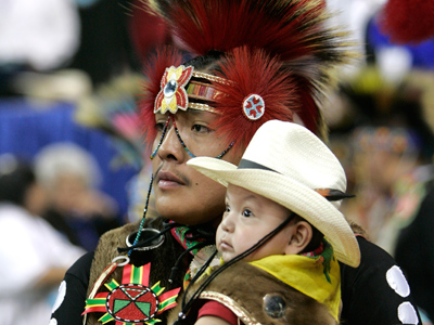 Geneticists find Jewish roots in Colorado Indians (Reuters/Rick Wilking)