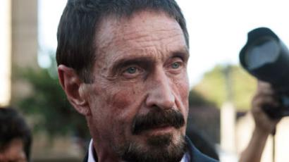 Miami Vice:  Runaway millionaire, murder suspect McAfee returns to US