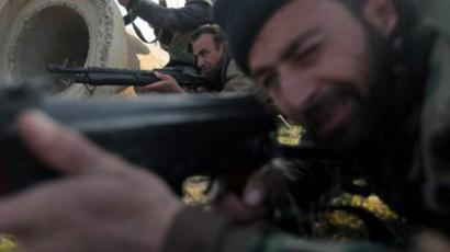Soldiers of the Free Syrian Army (AFP Photo / Ricardo Garcia Vilanova)