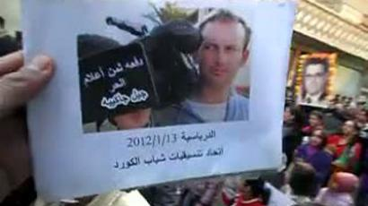 Syrian rebels set to execute Ukrainian journalist
