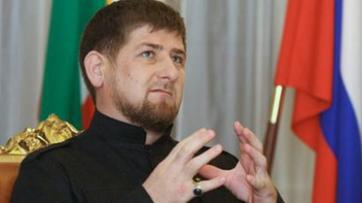 Head of the Chechen Republic Ramzan Kadyrov gives interview (RIA Novosti / Said Tcarnaev)